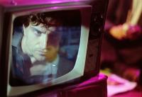 The Wandering Soap Opera Film Still Man on TV Screen